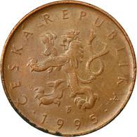 Monnaie, République Tchèque, 10 Korun, 1995, TTB, Copper Plated Steel, KM:4 - Repubblica Ceca