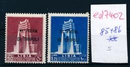 Italien- Libyen Nr. 85+86 **    (ed7402  ) Siehe Scan - Libye