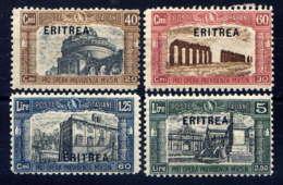 ERYTHREE - 113/116* - PREVIDENZA - Erythrée