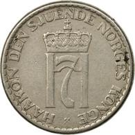 Monnaie, Norvège, Haakon VII, Krone, 1957, TTB, Copper-nickel, KM:397.2 - Noruega