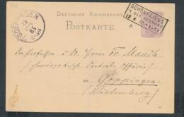 D.-Reich GS Heimat Beleg-Schönflies... (op823  ) Siehe Scan - Briefe U. Dokumente