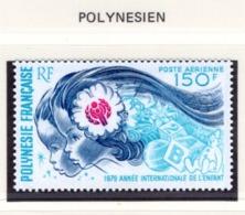 YEAR INTERN. OF CHILD - POLINESIA FRANCESE - Mi. Nr.  284  - NH - (6532-15.) - Polinesia Francese