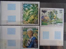 LAOS P.A. 1970 Y&T N° 75 à 77 ** - TABLEAUX DIVERS - Laos