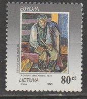 Lituanie Europa 1993 N° 476 ** Art Contemporain - 1993