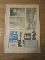 Schach Chess Ajedrez échecs - Russische Schachzeitung N° 22 (268) 1983 - Books, Magazines, Comics