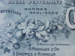 NANTES - MANUFACTURE DE BONBONS : CH. MARTEL ET DESRATEAUX GOUIN - 1911 - BELLE ILLUSTRATION - Francia