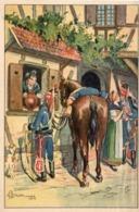 Ermann - Départ De Hussards - Alsace 1795 (117136) - Illustrators & Photographers