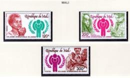 YEAR INTERN. OF CHILD - MALI  - Mi. Nr.  963/965  - NH - (6532-15.) - Mali (1959-...)