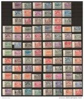 FRANCE EX COLONIES - GRANDE SERIE COLONIALE COMPLETE - TCHAD AU RHIN - 90 TIMBRES NEUFS ** - 1946 Tchad Au Rhin