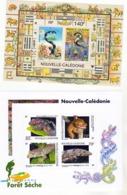 Nouvelle Calédonie BF 25/27 , 29 Année Du Serpent, Tortues Marines, Reptiles Neuf * * TB  MNH Faciale 5.72 - Blocks & Kleinbögen