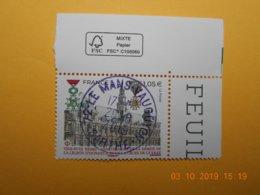 FRANCE 2019  1919-2019  REIMS Ann.Remise Légion Honneur Et Croix De Guerre  Beau Cachet  Rond Sur T.N  Coin De Feuille - Frankreich