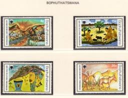 YEAR INTERN. OF CHILD - BOTSWANA  - Mi. Nr.  253/256 - NH - (6532-15.) - Botswana (1966-...)