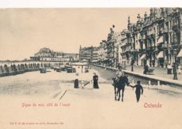 CPA - Belgique - Oostende - Ostende - Digue De Mer, Côté De L'ouest - Oostende