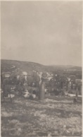 155- FOTOGRAFIA  MILITARE - CIMITERO MILITARE -RE DI PUGLIA - AGOSTO 1923 - - War 1914-18