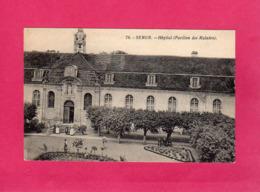 21 Côte D'Or, Semur, Hôpital (Pavillon Des Malades), Animée, (Clerc Darcy) - Semur