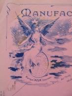 FACTURE - PUTEAUX 1911 - MANUFACTURE DE CYCLES : CH. COCHEZ, CONSTRUCTEUR - BELLE ILLUSTRATION - Frankreich
