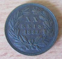 Portugal - Monnaie XX REIS Luiz I 1883 - TTB - Portugal