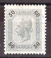 AUTRICHE - 1899/1902 - N° 75b - Neuf * - Fils De Soie - Dentelé 13 X 12½ - 1850-1918 Empire