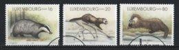 Luxembourg 1996 : Timbres Yvert & Tellier N° 1350 - 1351 Et 1352 Oblit. - Gebruikt