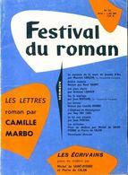 Festival Du Roman N°32 : Les Lettres De C. Marbo De Collectif (1960) - Libri, Riviste, Fumetti