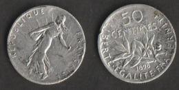 50 Centimes Argent 1898 Semeuse Roty état Voir Scan, Petit Accro Sur La Tranche - Frankreich
