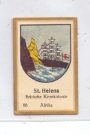 ST. HELENA - Staatswappen, Abdulla Sammelbild / Cinderella - Saint Helena Island