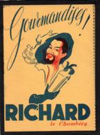 Livret Qui Raconte L'histoire De L'apéritif RICHARD Le Chambery GOURMANDISES. Cuisine,Cocktails, Voir Scannes - Gastronomia