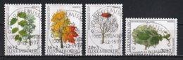 Luxembourg 1997 : Timbres Yvert & Tellier N° 1381 - 1382 - 1383 Et 1384 Oblit. - Gebruikt