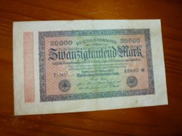 1 BILLET ALLEMAND A IDENTIFIER, VOIR SCAN RECTO-VERSO DE 1923 - Germany