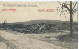Ruines Des Environs De Kemmel - Le Carrefour Du Pompier - Au Fond Le Mont Kemmel - Heuvelland
