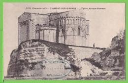 CHARENTE INF./ TALMONT SUR GIRONDE / L'EGLISE EPOQUE ROMANE.....Carte Vierge - Other Municipalities