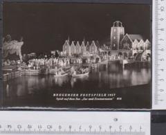 Bregenz Festspiele 1957 Zar Und Zimmermann Ungelaufen AK 288 - Bregenz