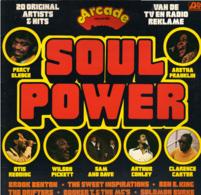 * LP * SOUL POWER - ARETHA FRANKLIN, PERCY SLEDGE, SAM & DAVE, ARTHUR CONLEY, KING CURTIS A.o. - Soul - R&B