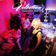 * LP * TRANSVISION VAMP - VELVETEEN (Europe 1989 EX-) - Rock