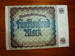 1 BILLET ALLEMAND A IDENTIFIER, VOIR SCAN RECTO-VERSO DU 2 DECEMBRE 1922 - Alemania