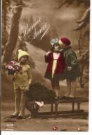 L80b107 - Bonne Année - Enfants Avec Luge - Dix N°2382 - New Year