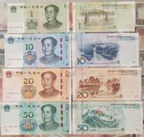 China 2019 1 10 20 50 Yuan UNC 4pcs New Issue - Cina
