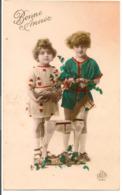 L80b108 - Bonne Année - Enfants Avec Jouet Bois - Dédé N°1040 - New Year