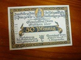 1 BILLET ALLEMAND A IDENTIFIER, VOIR SCAN RECTO-VERSO DE 1920 - Germany