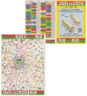 Trams Et Bus Bruxelles 1963 - Transports