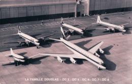 Aviation, La Famille Douglas DC3 - DC4 - DC6 - DC7 - DC8 (3013) - 1946-....: Ere Moderne