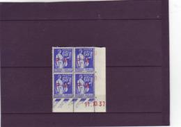 N° 365 (FM 8) 65c PAIX/LAURENS  - FM - H De G+H - 3° Tirage Du 5.10.37 Au 12.10.37 - 11.10.1937 - - 1930-1939