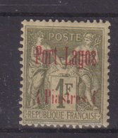 PORT - LAGOS : N° 6 * . TB . 1893 . - Puerto Lagos (1893-1931)