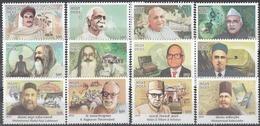 INDIA 2019 Master Healers Of AYUSH, Medical Heritage, Eminent Practitioners Over Ages, Set 12v, MNH(**) - Ongebruikt