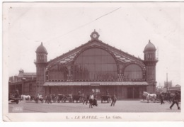 76-LE HAVRE- LA GARE-ANIMÉE - Gare