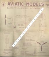 Aviatic-models Lockheed Xp38 Poursuit USA - Andere Verzamelingen