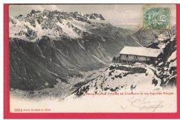 CPA-74-1904-PIERRE-POINTUE-VALLÉE DE CHAMONIX ET LES AIGUILLES ROUGES- - Chamonix-Mont-Blanc