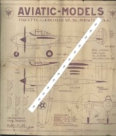 Aviatic-models Boulton Paul Défiant - Andere Verzamelingen