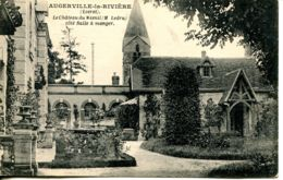 N°75909 -cpa Le Château Du Mesnil -Augerville La Rivière- - Castles