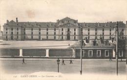 93 Saint Denis Les Casernes Cachet Convoyeur Ambulant Paris à Toulouse 1909 - Saint Denis
